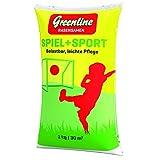 Greenline Rasensamen Spiel und Sport 1 kg, grün