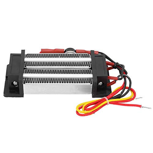 Calentador de aire PTC de 450 W, calentador de aire de cerámica PTC de 220 V, elemento calefactor PTC aislado, calentador de temperatura constante aislado