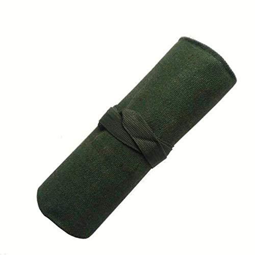 zwyjd Canvas Bonsai Werkzeugrolle Aufbewahrungstasche Werkzeug Rolltasche Multi Purpose Tool Roll Up Bag bewegliches Multifunktionswerkzeugpaket Rolltasche mit 10 Taschen