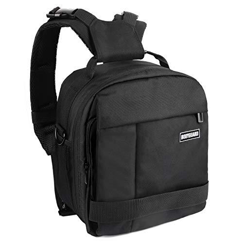Bodyguard DSLR 2in1 Kameratasche und Fotorucksack in einem, Tasche mit Variabler Inneneinteilung für 3 * 16cm oder 5 * 12cm Objektiv