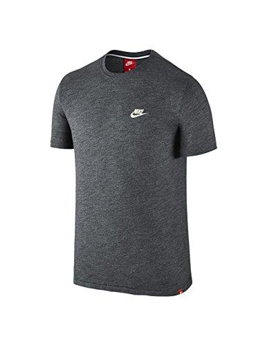 Nike Herren Legacy Shirt, Charcoal Heathr/Sail, L