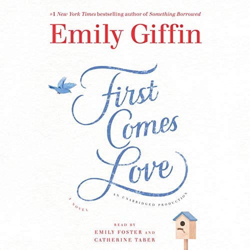First Comes Love     A Novel              By:                                                                                                                                 Emily Giffin                               Narrated by:                                                                                                                                 Emily Foster,                                                                                        Catherine Taber                      Length: 12 hrs and 7 mins     1,573 ratings     Overall 4.0