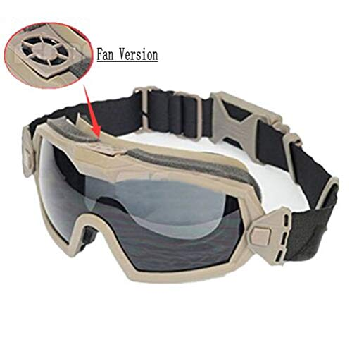 SGOYH Fan Version Cooler Tactical Airsoft Paintball Glasses...