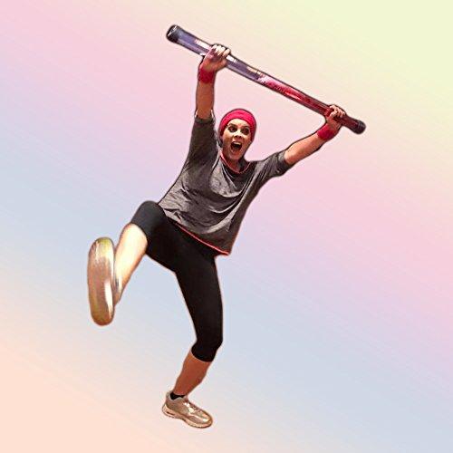 """MAG-PIPE® \""""Magic Power of Swinging Water\"""". Fitness-Gerät zum Abnehmen und schlank werden. Wasser-Hantel, Gymnastik-Stab, Schwing-Stab, Swing-Stick, Slosh-Pipe, Aqua-Tube aus Kunststoff, 1 kg"""