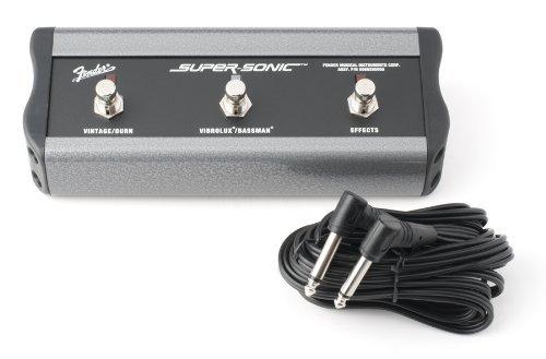 Fender Footswitch 3 Boutons Connecteur Jack Super Sonic