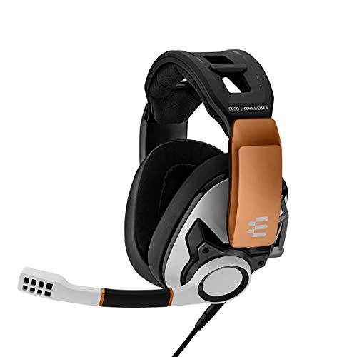 EPOS I Sennheiser GSP 601 Gaming Headset, Geräuschunterdrückendes Mikrofon, Flip-to-Mute, Ergonomisch, Ohrpolster, Kompatibel mit PC, Mac, PS4, PS5, Xbox Series X, Xbox One und Nintendo Switch (Weiß)