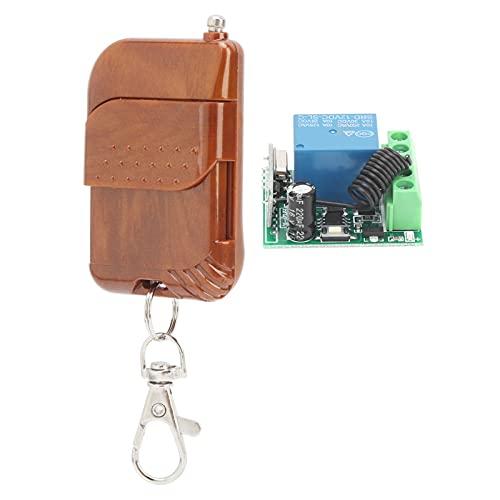 Kit d'émetteur de télécommande, récepteur de commutateur sans fil résistant à corrosion et à l'humidité pour automobiles pour machines-outils