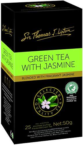Lipton Té Verde Con Jazmín Sir Thomas Bolsa de Té 25s