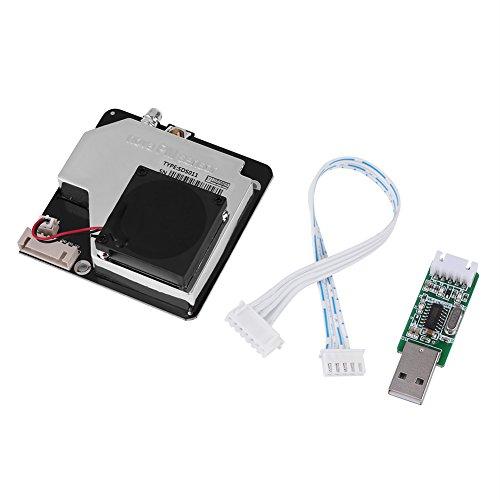 Alta Precisión Aire partículas PM2.5 PM10 Detector polvo Sensor Detector de módulo, Digital USB purificador de aire Aire Acondicionado Monitor Módulo sds011