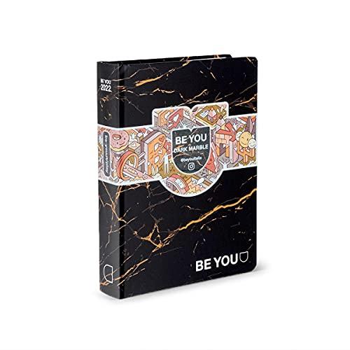 Be You Diario Dark Marble, Formato Big, Collezione 21/22