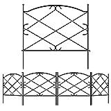 Gtongoko Decorative Garden Fence Rustproof and...