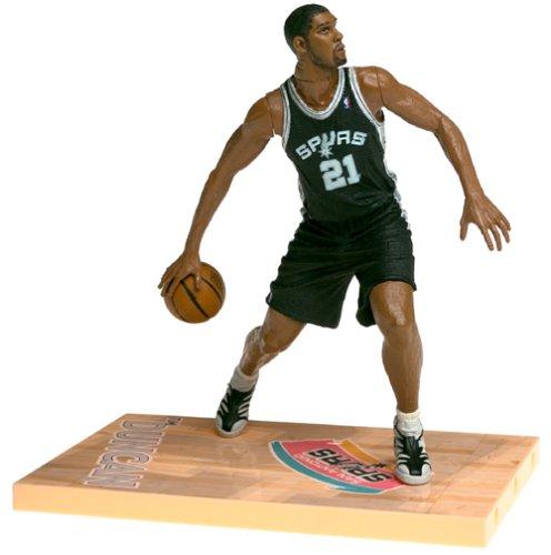 McFarlane NBA Series 1 TIM DUNCAN #21 - San Antonio Spurs Sports Picks Figure