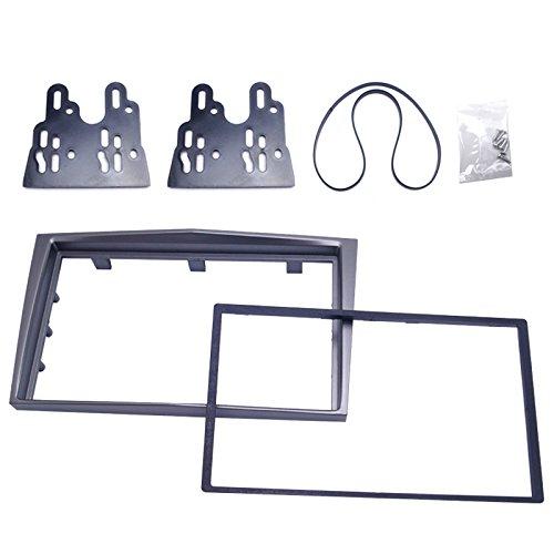 FEELDO Kit d'installation de tableau de bord stéréo 2 DIN pour voiture (5221-C)