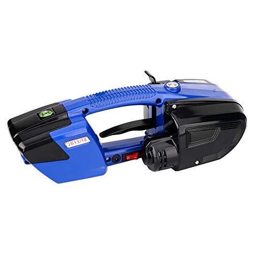 Umreifungsgerät Elektrische Ballenpresse Tragbare Handumreifungsgerät, Handheld Umreifungsmaschine für 13-16mm PET/PP Bandbreite Chargable Welding Strapping Tool