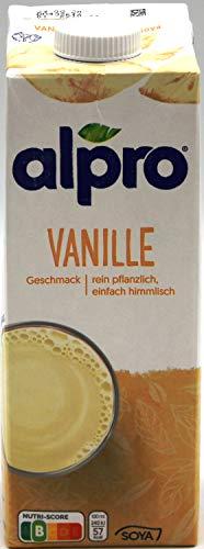 Alpro Soya Drink Vanille, 8er Pack (8 x 1l)