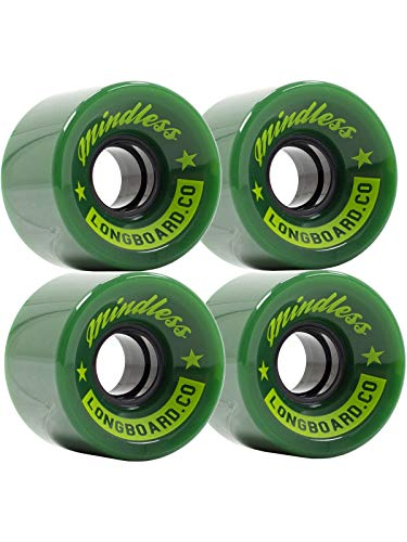 Mindless Longboards Cruiser Wheels Skateboard Unisex Erwachsene, Unisex-Erwachsene, ML0574, Grün (Green), 60x40 mm