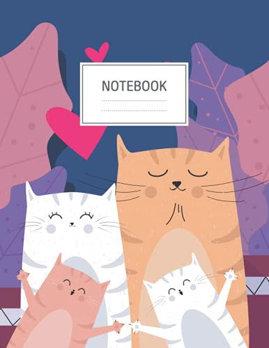Notebook: Cute Cover - Size (8.5 x 11 inches) 120 Pages: Lined Paper