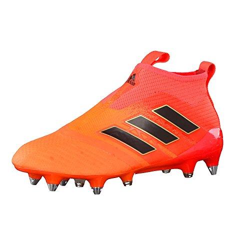 adidas Herren ACE 17+ Purecontrol SG Fußballschuh, orange/schwarz, 40 EU