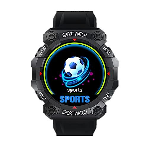FeiyanfyQ FD68 1.3 pulgadas pantalla impermeable podómetro inteligente deporte reloj pulsera de la salud - negro