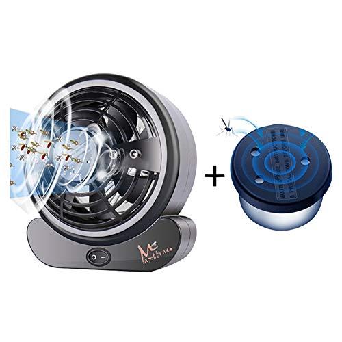 Plug-in-Mückenschutz CO2-Absaugung + Hochgeschwindigkeitsmotor Effiziente Mückenfalle Geräuscharme Umgebung Geeignet für den doppelten Einsatz im Innen- und Außenbereich auf 60 Quadratmetern