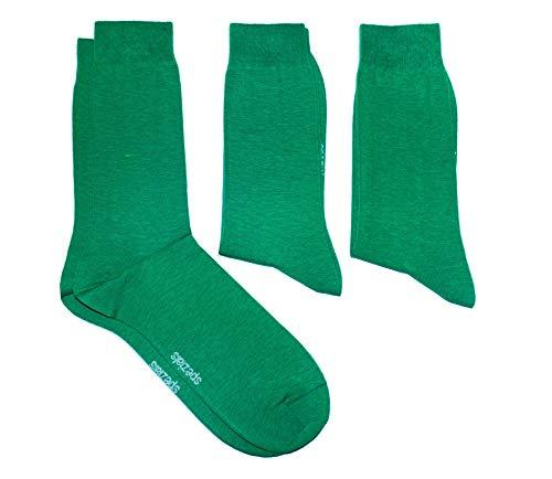 Weri Spezials Herren Socken 3-er Pack in 18-5642 Smaragdgruen Gr. 47-48