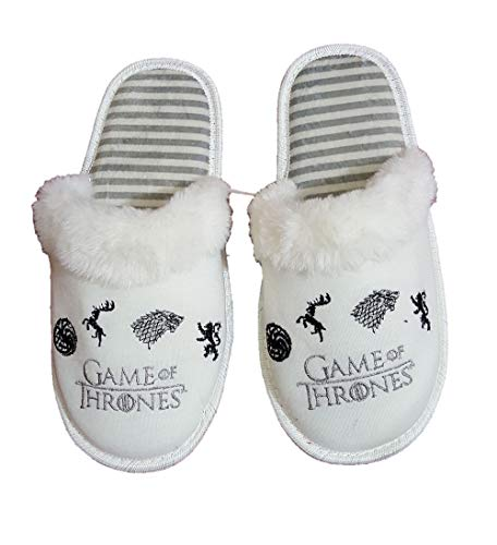 Zapatillas de Estar por casa, cómodas, para Chica, con diseño de Juego de Tronos, Color...