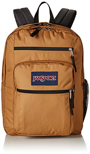 JanSport Big Student Backpack - 15-inch Laptop School Pack, Carpenter Brown