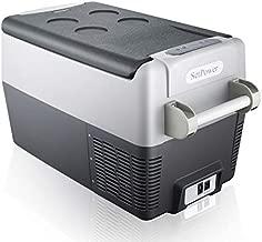 SetPower AJ30 32 Quarts Portable Freezer Fridge 12V Cooler, 0?-50?, DC 12/24V, AC 110-240V, Car Fridge Compact Refrigerator, for Truck, Van, RV Road Trip, Outdoor, Camping, Picnic, BBQ, Patio
