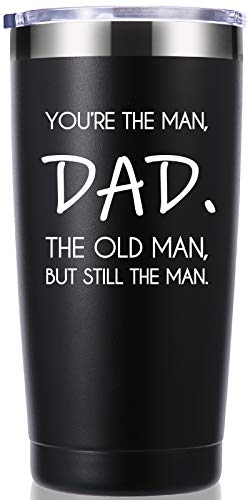 You're The Man Dad The Old Man But Still The Man Travel Mug