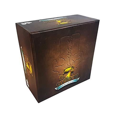 Serious Poulp The 7th Continent Classic Edition - Boite de Base - Version Française - Jeu de Plateau - Coopératif - 1 à 4 Joueurs - Aventure - Exploration - Survie