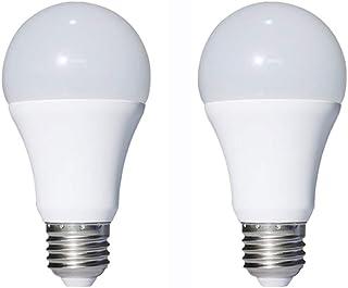 12V Low Voltage LED Light Bulbs - Warm White 7W E26 Standard Base 60W Equivalent - DC/AC Bulb for RV, Solar Panel Project, Boat, Garden Landscape, Off-Grid Lighting (2 Pack)
