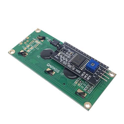 Junecat Digital-LCD-Display IIC I2C TWI SPI Serial Interface 1602 16x2 Zeichen LCD-Hintergrundbeleuchtung Modul-Brett 5V