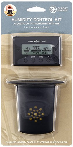 D'Addario Acoustic Guitar Humidifier with Digital Humidity & Temperature sensor