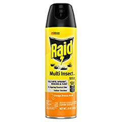 Kills Ants, Spiders, Roaches and Flies No lingering chemical odor For indoor and outdoor use Kills bugs on contact Orange Breeze Scent