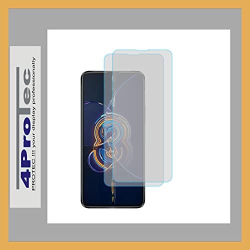 4ProTec | 2X Bildschirm-Schutz-Folie MATT für Asus ZenFone 8 Flip
