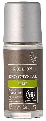 Organic Lime Crystal Deodorant - 50ml