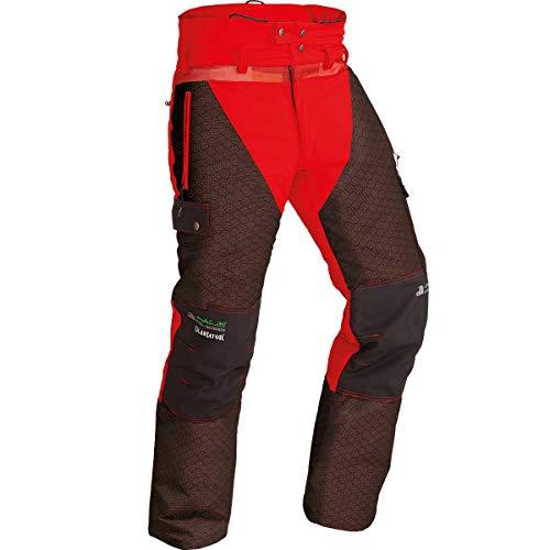 Pfanner Nachsuchehose Aramid-Faser verstärkt und Gladiatorstoff, Farbe:rot, Größe:S