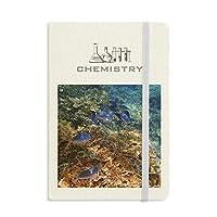 海洋のカラフルな魚の科学は自然の写真 化学手帳クラシックジャーナル日記A 5