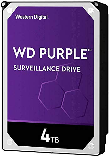 Western Digital Purple 4TB Interne Disco Duro 8.9cm (3.5 Zoll)...