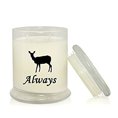 Always 8.5 oz. Lavender Scented Soy Candle -- Harry Potter Gift -- Severus Snape
