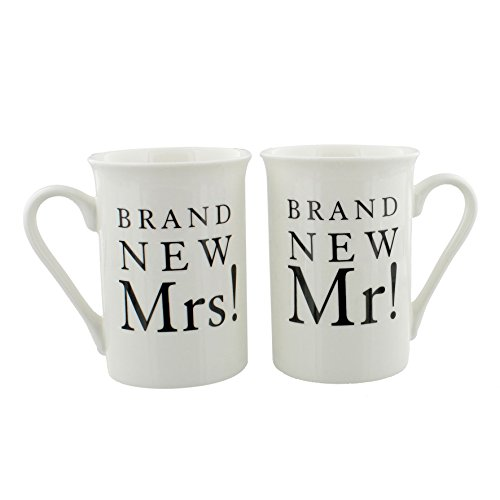 Amore Paire de tasses en porcelaine pour cadeau de mariage