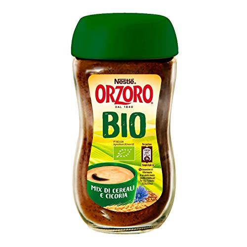 Nestlé Orzoro Bio Orzo Mix di Cereali e Cicoria Barattolo, 75 g