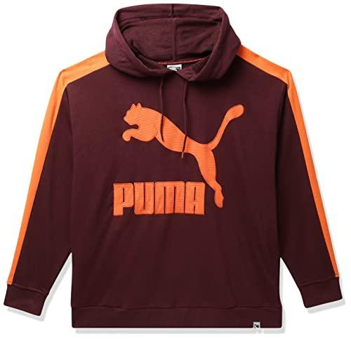 Puma Women's Hoodie (4059504396559_Winetasting_Large)