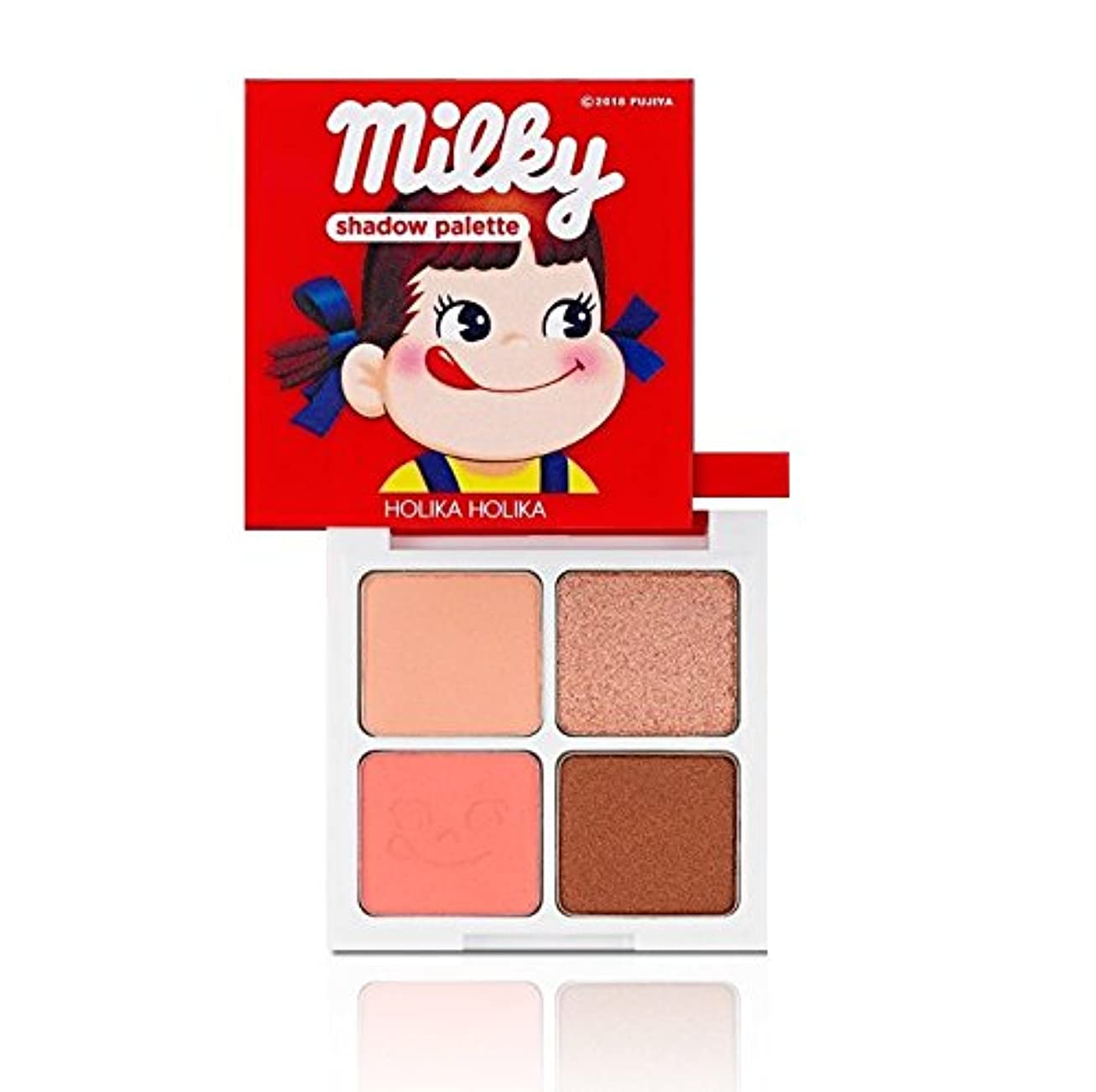 フレア快適パワーセルHolika Holika [Sweet Peko Edition] 4 Shadow Palette #01 Strawberry Caramel/ホリカホリカ [スイートペコエディション] 4色シャドウパレット [並行輸入品]