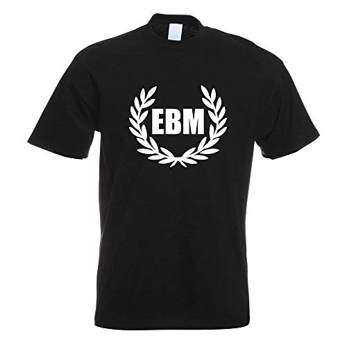 EBM Lorbeerkranz - Body Music T-Shirt Motiv Bedruckt Funshirt Design Print