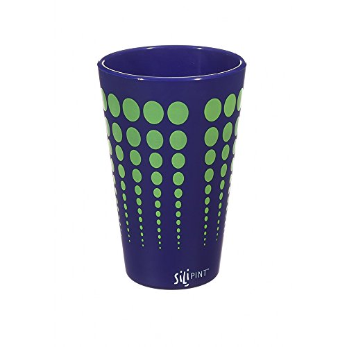 Evergreen Enterprises Silipint Cup Black with White Dots