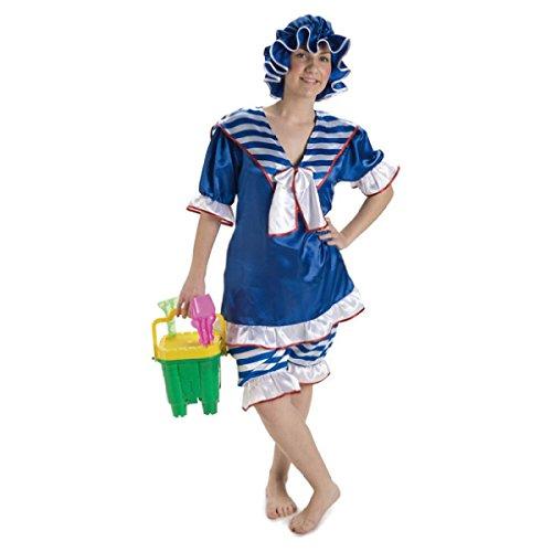 Disfraz bañista años 20 mujer. Talla 42/44.