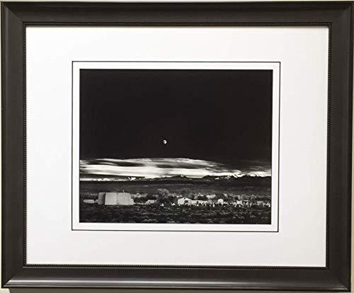 Ansel Adams  Moonrise Hernandez New Mexico Custom Framed Litho Art Print Photo 19  x 23