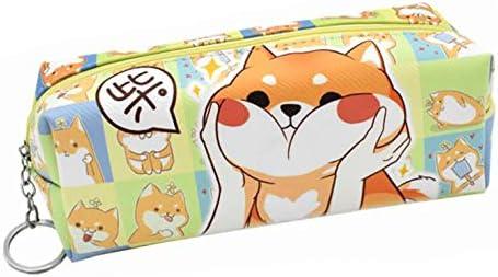IRISFLY Cute Shiba Inu Pencil Cheap mail Same day shipping order specialty store Case Gift Teacher Bag Gadget Pouch
