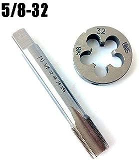 5/8-32 Tap And Die Set, Machine Thread Tap And Round Thread Die Right Hand HSS Taper